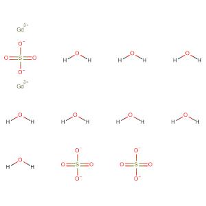GADOLINIUM(III) SULFATE,CAS No. 13450-87-8.