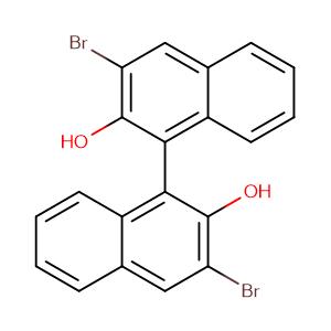 (S)-(-)-3,3'-DIBROMO-1,1'-BI-2-NAPHTHOL,CAS No. 119707-74-3.