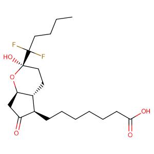 (2R,4AR,5R,7AR)-2-(1,1-DIFLUOROPENTYL)-2-HYDROXY-6-OXO-3,4,4A,5,7,7A-HEXAHYDROCYCLOPENTA[B]PYRAN-5-HEPTANOIC ACID,CAS No. 333963-40-9.