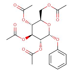 PHENYL 2,3,4,5-TETRA-O-ACETYL-ALPHA-D-GLUCOPYRANOSIDE,CAS No. 3427-45-0.