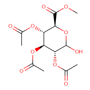2,3,4-TRI-O-ACETYL-ALPHA-D-GLUCURONICACIDMETHYLESTER,CAS No. 3082-95-9.