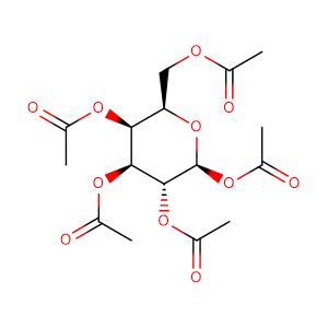 .BETA.-D-GALACTOPYRANOSE PENTAACETATE,CAS No. 4163-60-4.