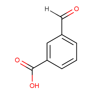3-CARBOXYBENZALDEHYDE,CAS No. 619-21-6.