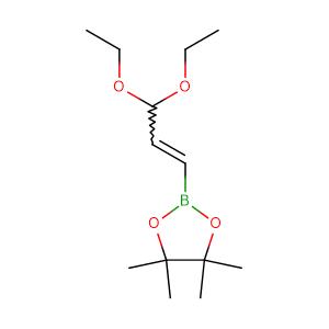 3,3-DIETHOXY-1-PROPENYLBORONIC ACID PINACOL ESTER;3-PROPENE ALDEHYDE-BORONIC ACID PINACOL ESTER DIETHYL ACETAL,CAS No. 153737-25-8.
