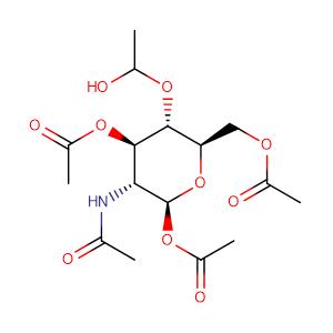 BETA-D-GLUCOSAMINE PENTAACETATE,CAS No. 7772-79-4.