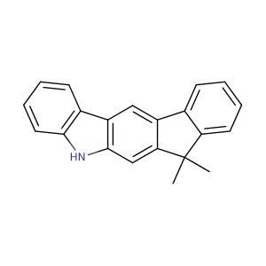 12,12-dimethyl-10,12-dihydroindeno[2,1-b]carbazole,CAS No. 1257220-47-5.