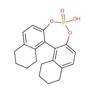 S-5,5',6,6',7,7',8,8'-Octahydro-1,1'-bi-2-naphthylphosphate,CAS No. 297752-25-1.