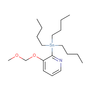 3-Methoxymethoxy-2-tributylstannylpyridine;3-Methoxymethoxy-2-tributylstannanyl-pyridine,CAS No. 405137-20-4.