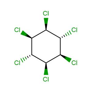 Lindane,CAS No. 58-89-9.