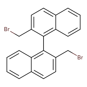 (1R)-2,2'-bis(bromomethyl)-1,1'-Binaphthalene,CAS No. 86631-56-3.