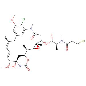N2'-deacetyl-N2'-(3-mercapto-1-oxopropyl)maytansine,CAS No. 139504-50-0.