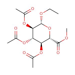 methyl (ethyl 2,3,4-tri-O-acetyl-beta-D-glucopyranosid)uronate,CAS No. 77392-66-6.
