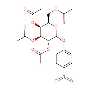 p-nitrophenyl 2,3,4,6-tetra-O-acetyl -alpha-D-galactopyranoside,CAS No. 17042-39-6.