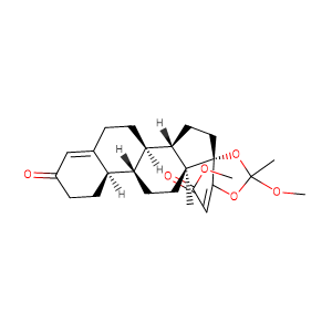 (17α,20E)-17,20-[(1-methoxyethylidene)bis(oxy)]-3-oxo-19-Norpregna-4,20-diene-21-carboxylic acid, methyl ester ,CAS No. 1370003-76-1.