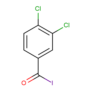 3.4-Dichlor-benzoyliodid,CAS No. 16156-46-0.