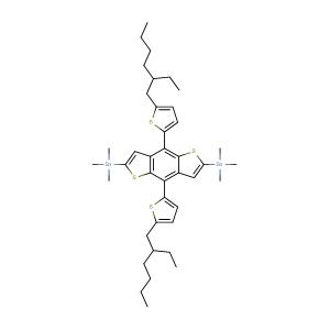 1,1?-[4,8-Bis[5-(2-ethylhexyl)-2-thienyl]benzo[1,2-b:4,5-b?]dithiophene-2,6-diyl]bis[1,1,1-trimethylstannane],CAS No. 1352642-37-5.