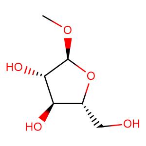 methyl 3,5-O-di-t-butylsilylene-alpha-D-arabinofuranoside,CAS No. 56607-40-0.