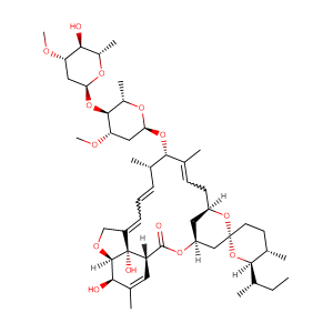 22,23-DIHYDROAVERMECTIN B1A,CAS No. 71827-03-7.