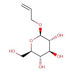 β-D-Glucopyranoside, 2-propen-1-yl ,CAS No. 34384-79-7.