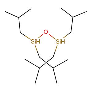 1,1,3,3-tetraisobutyldisiloxane,CAS No. 35850-37-4.
