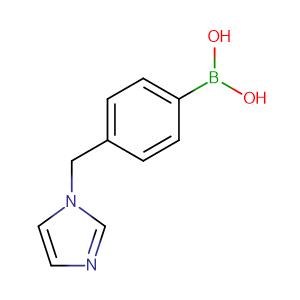 B-[4-(1H-imidazol-1-ylmethyl)phenyl]-Boronic acid,CAS No. 1228183-01-4.