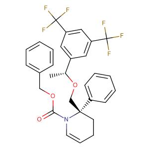 benzyl (2S)-2-({(1-R)-1-[3,5-bis(trifluoromethyl)phenyl]ethoxy