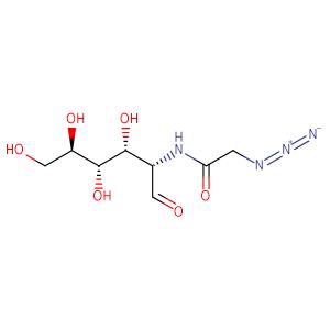 2-[(Azidoacetyl)aMino]-2-deoxy-D-glucose,CAS No. 92659-90-0.