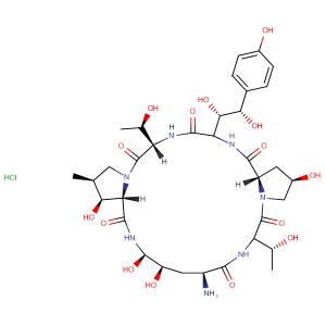 1-[(4R,5R)-4,5-dihydroxy-L-ornithine]-Echinocandin B hydrochloride,CAS No. 1029890-89-8.