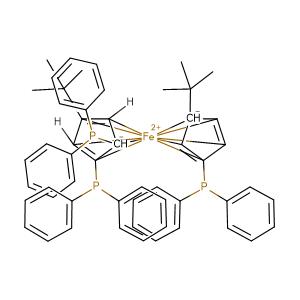1,1',2-tris(diphenylphosphino)-3',4-di-tert-butylferrocene,CAS No. 1159850-42-6.