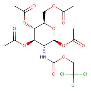 1,3,4,6-tetra-O-acetyl-2-Troc-2-deoxy-beta-D-glucopyranose,CAS No. 122210-05-3.
