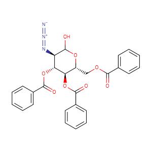 3,4,6-Tri-O-benzoyl-2-deoxy-2-azido-D-glucopyranose,CAS No. 1003221-97-3.