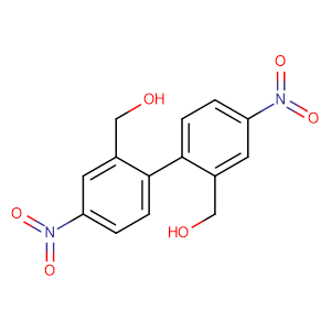 2,2-bis(hydroxymethyl)-4,4-dinitro-1,1-biphenyl,CAS No. 5047-02-9.
