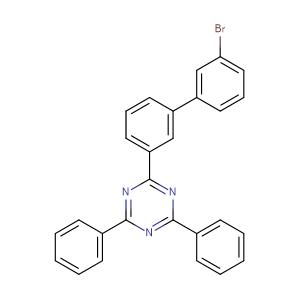2-{3'-bromo-[1,1'-biphenyl]-3-yl}-4,6-diphenyl-1,3,5-triazine,CAS No. 1606981-69-4.
