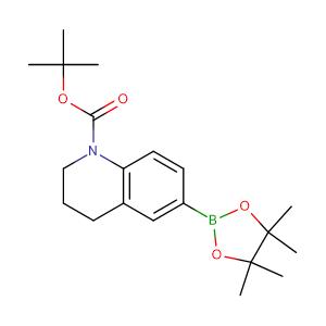 tert-butyl 6-(4,4,5,5-tetramethyl-1,3,2-dioxaborolan-2-yl)-1,2,3,4-tetrahydroquinoline-1-carboxylate,CAS No. 1912446-60-6.
